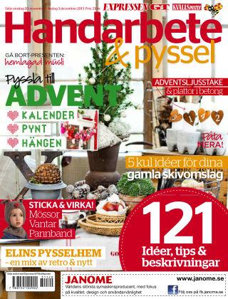 Handarbete & Pyssel (Inga nya utgåvor) 2013-11-20