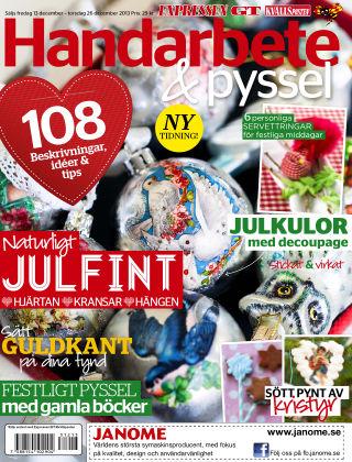 Handarbete & Pyssel (Inga nya utgåvor) 2013-12-13