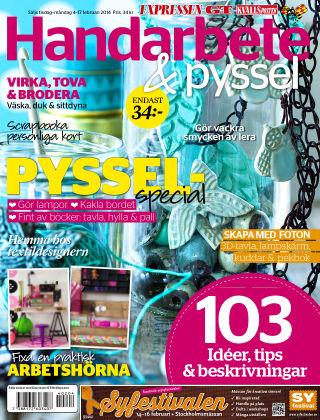 Handarbete & Pyssel (Inga nya utgåvor) 2014-02-04