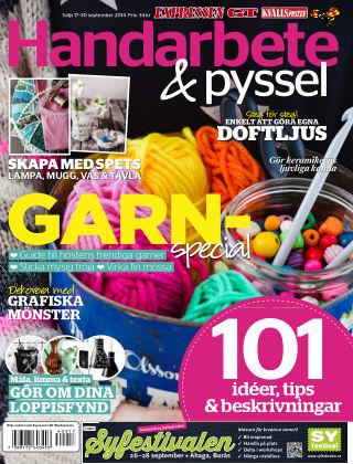 Handarbete & Pyssel (Inga nya utgåvor) 2014-09-17