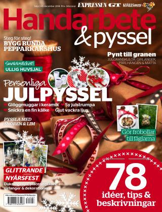 Handarbete & Pyssel (Inga nya utgåvor) 2014-12-03