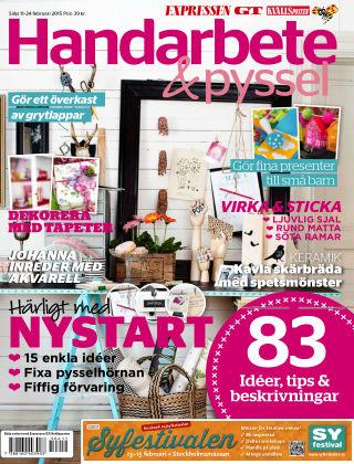 Handarbete & Pyssel (Inga nya utgåvor) 2015-02-11