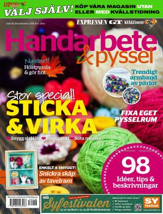 Handarbete & Pyssel (Inga nya utgåvor) 2015-09-18