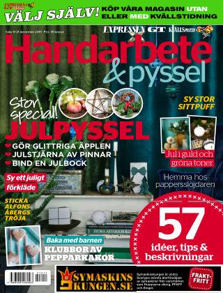 Handarbete & Pyssel (Inga nya utgåvor) 2015-12-11