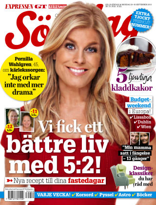 Expressen Söndag 2013-09-29