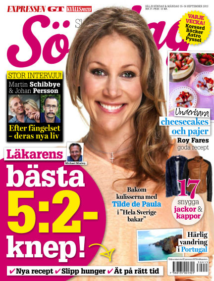 Expressen Söndag September 15, 2013 00:00