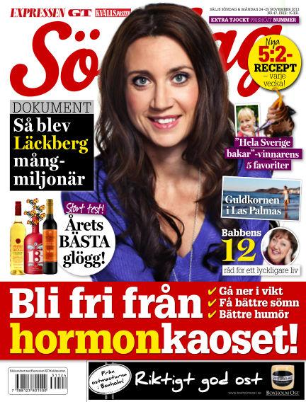 Expressen Söndag November 24, 2013 00:00