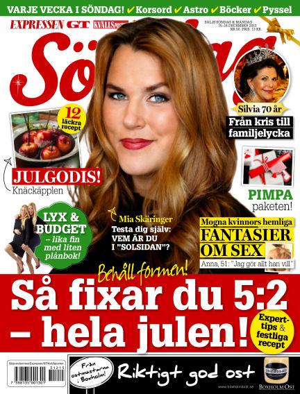 Expressen Söndag December 15, 2013 00:00