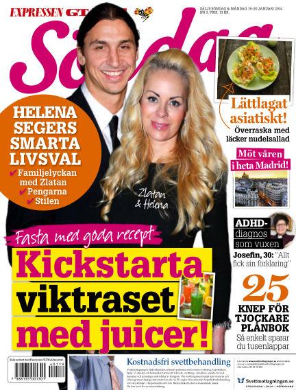 Expressen Söndag January 19, 2014 00:00