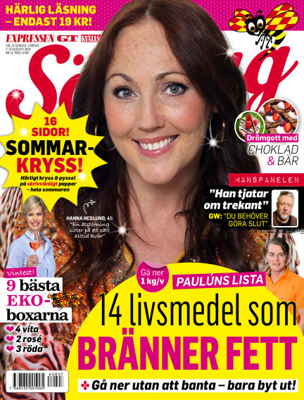 Expressen Söndag August 07, 2016 00:00