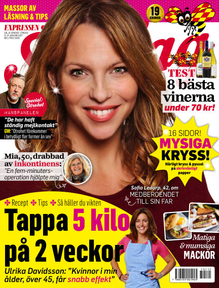 Expressen Söndag January 15, 2017 00:00