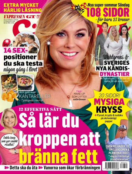Expressen Söndag August 12, 2018 00:00