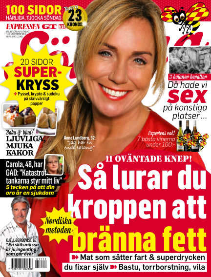 Expressen Söndag November 11, 2018 00:00