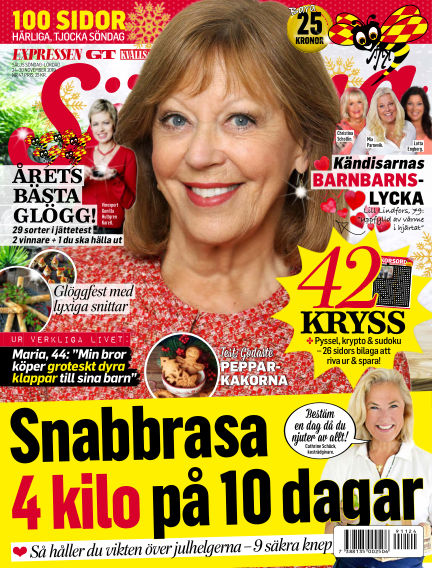 Expressen Söndag November 24, 2019 00:00