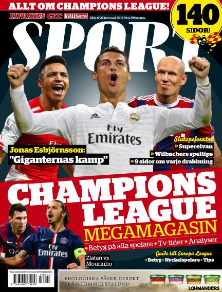 Sport February 06, 2015 00:00