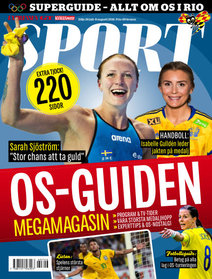 Sport July 26, 2016 00:00