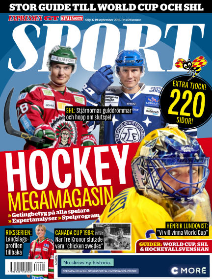 Sport September 06, 2016 00:00