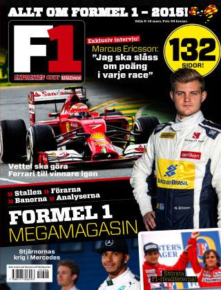 Allt om Formel 1 2015-03-06