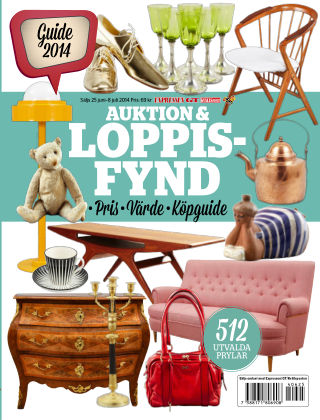 Auktion & Loppisfynd 2014-06-25