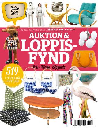 Auktion & Loppisfynd 2016-06-28
