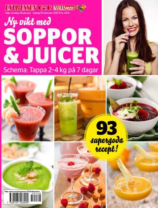 Ny vikt med soppor & juicer 2015-01-28