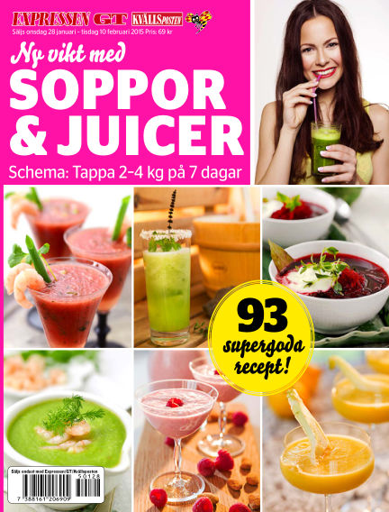 Ny vikt med soppor & juicer January 28, 2015 00:00