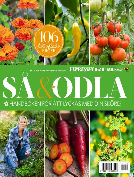 Så & Odla March 02, 2016 00:00