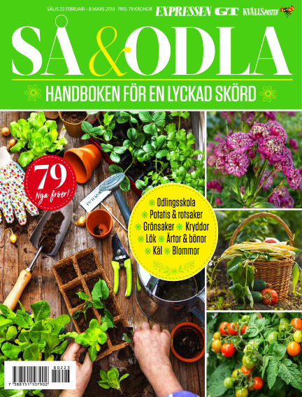 Så & Odla February 23, 2018 00:00