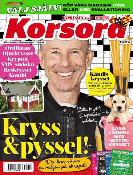 Korsord October 12, 2015 00:00
