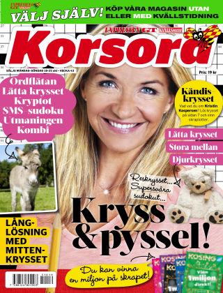 Korsord 2015-10-19
