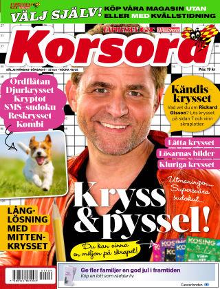 Korsord 2015-11-09
