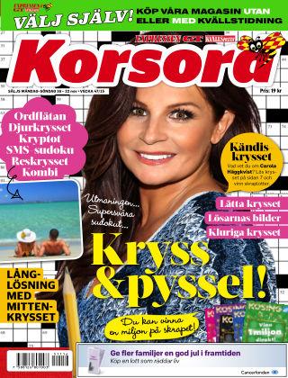 Korsord 2015-11-16