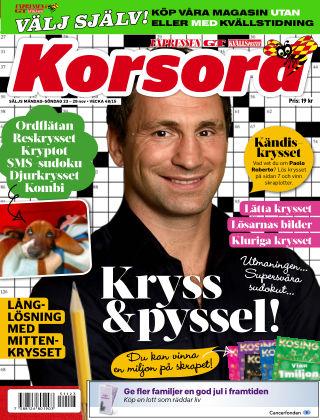 Korsord 2015-11-23