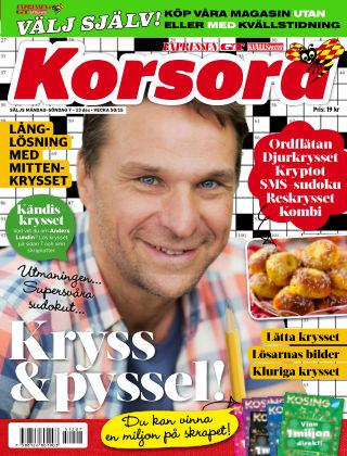 Korsord 2015-12-07
