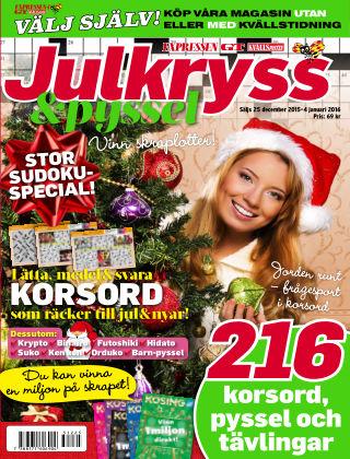 Korsord 2015-12-25