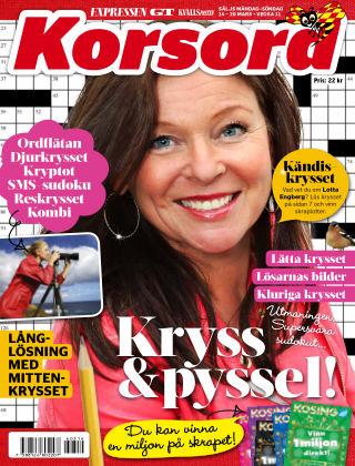 Korsord 2016-03-14