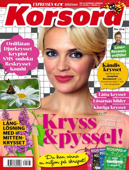 Korsord May 23, 2016 00:00