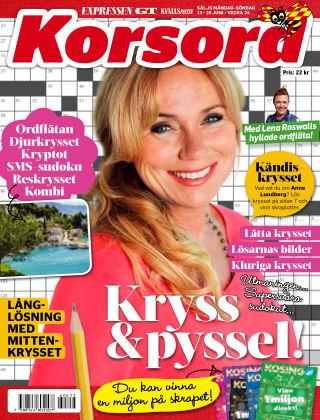 Korsord 2016-06-13