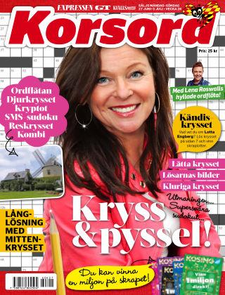 Korsord 2016-06-27