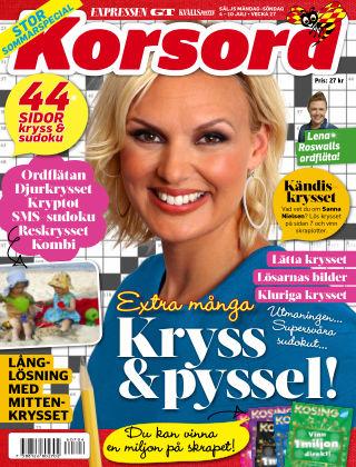 Korsord 2016-07-04