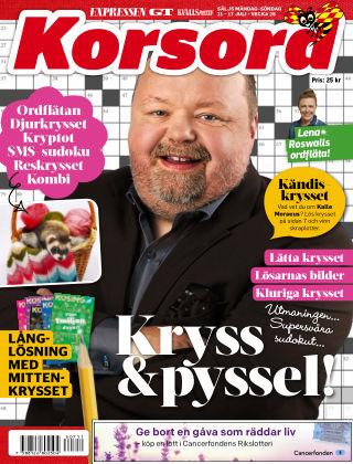 Korsord 2016-07-11