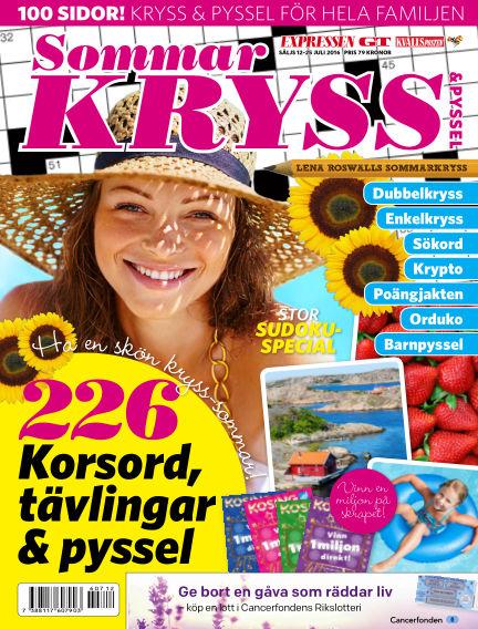 Korsord July 12, 2016 00:00