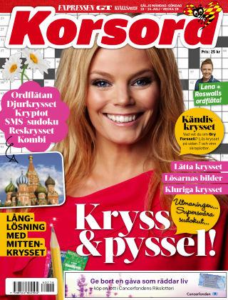 Korsord 2016-07-18