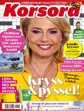 Korsord 2016-08-15