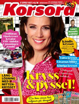 Korsord 2016-10-24