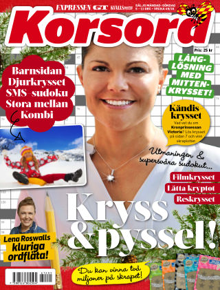 Korsord 2016-12-05