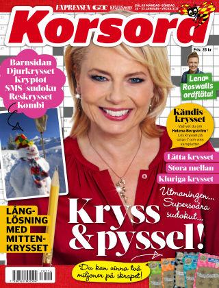 Korsord 2017-01-16