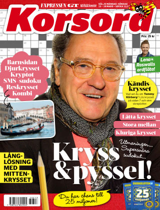 Korsord 2017-03-13