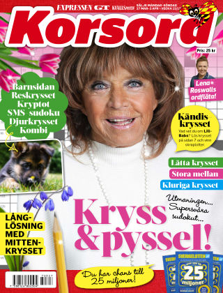 Korsord 2017-03-27