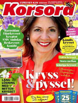 Korsord 2017-04-24